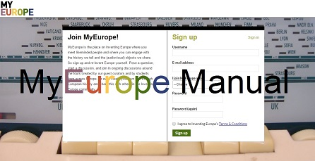 MyEurope Instruction manual